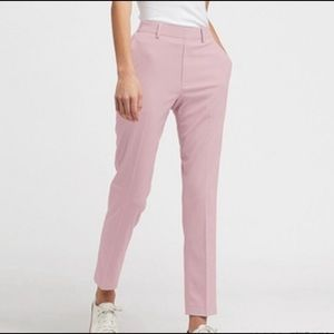 NWT - UNIQLO EZY Ankle Pants in Pink | Size Small